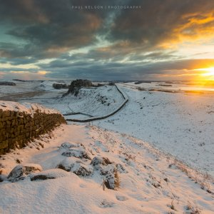 Winter Sunrise, Hadrian's Wall-.jpg